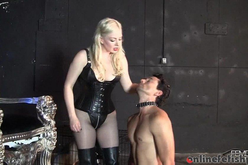 Femdomempire.com – No limits slavery Lexi Sindel 2012 Humiliation