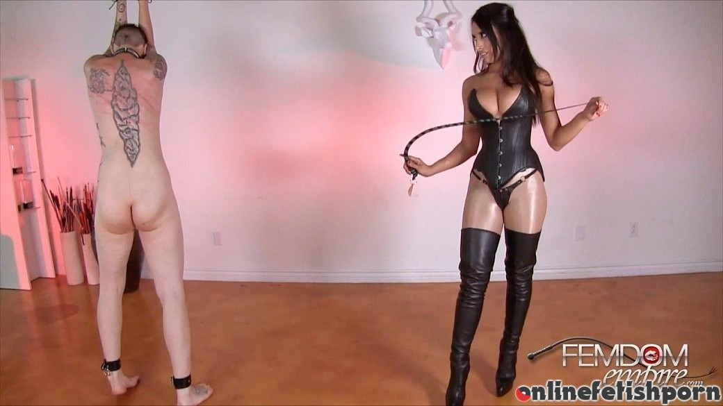 Femdomempire.com – Cruel Beauty Tangent 2014 Leather