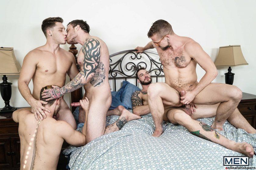 Jizzorgy.com – Gaymates Part 3 Cliff Jensen & Jacob Peterson & Jay Austin 2018 Gay Porn