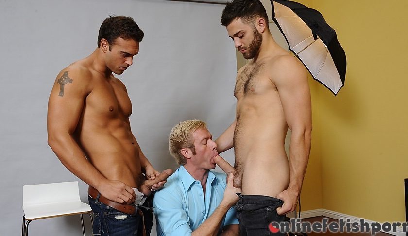 Drillmyhole.com – Photo Shooter Christopher Daniels & Rocco Reed & Tommy Defendi 2012 Gay Porn