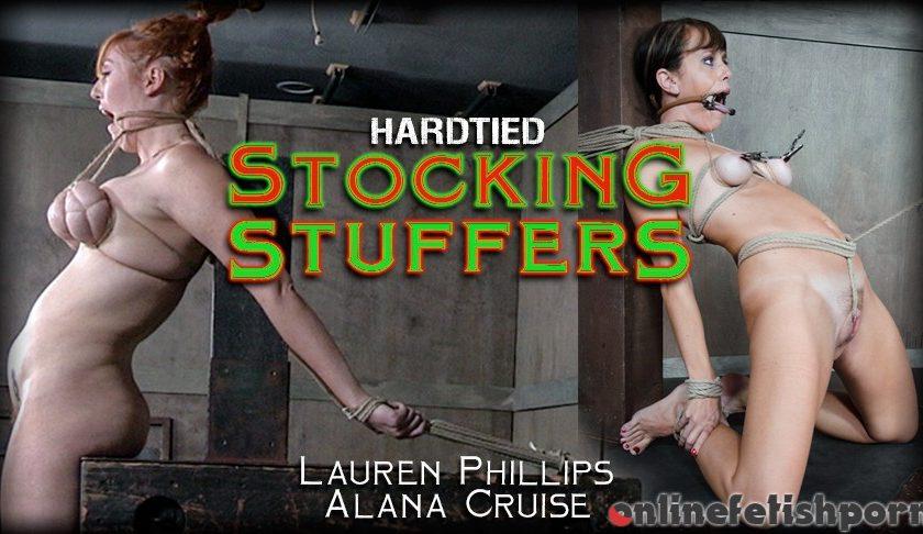 Hardtied.com – Stocking Stuffers Alana Cruise & Lauren Phillips 2016 Pussy Hook
