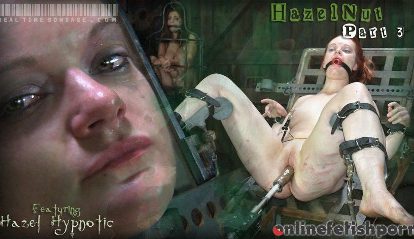 Realtimebondage.com – HazelNut Part Three Hazel Hypnotic 2011 Fucking Machine