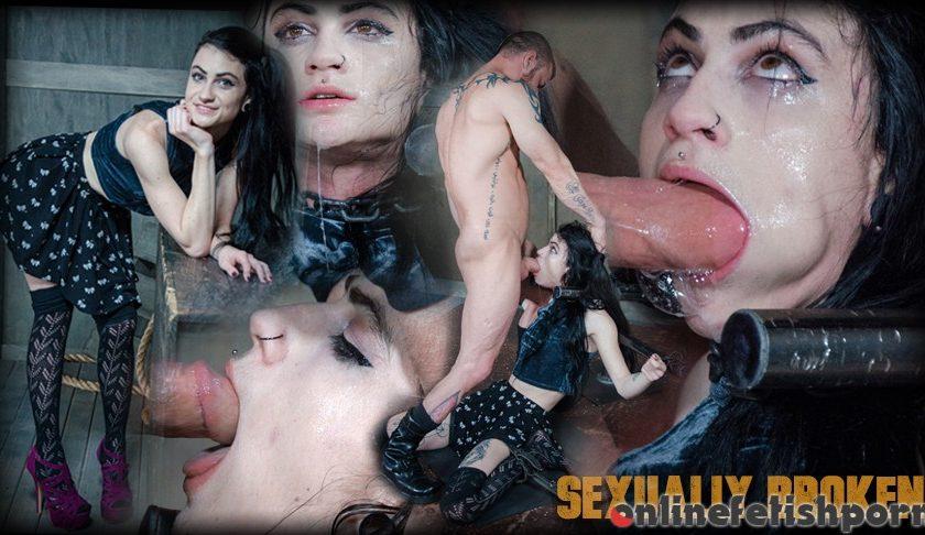 Sexuallybroken.com – Lydia Black is bound in a custom.. Lydia Black & Matt Williams & Sergeant Miles 2017 Gagging