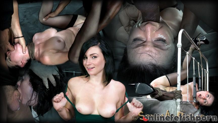 Sexuallybroken.com – Cock sucking legend in the making.. Veruca James & Matt Williams 2013 BDSM