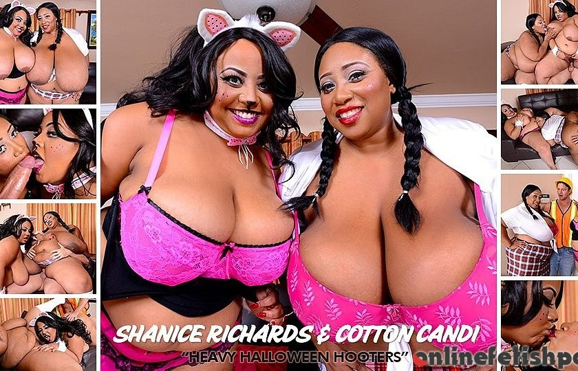 Plumperpass.com – Heavy Halloween Hooters Cotton Candi 2013 Belly Play