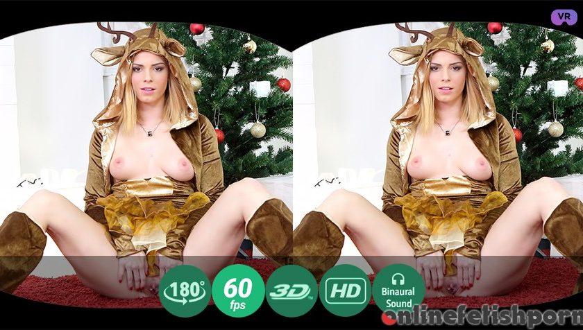 Tmwvrnet.com – New Year's striptease Chrissy Fox 2016 Solo