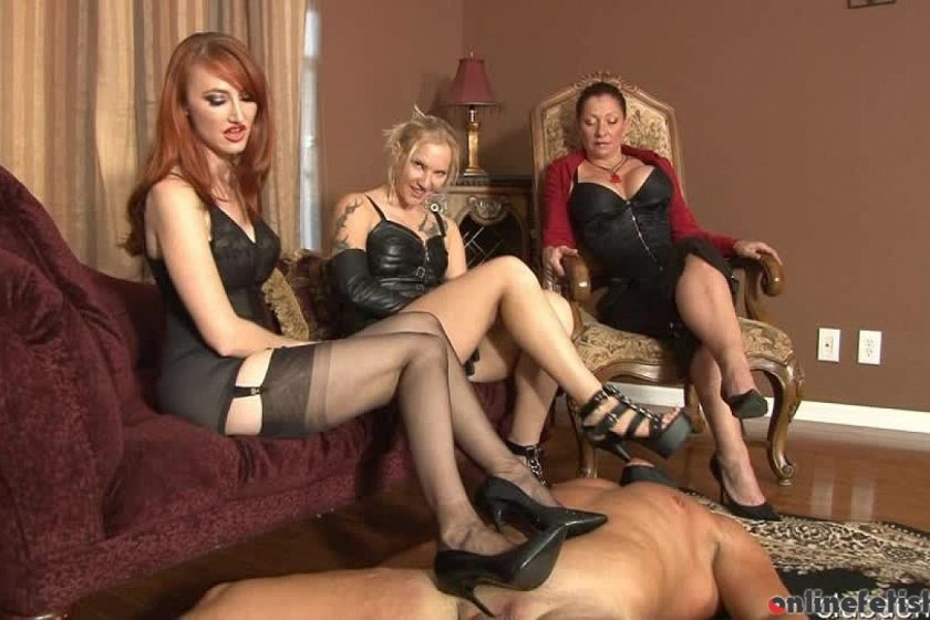 Clubdom.com – Rewarded With Foot Torturer Kendra James 2013 Foot Worship