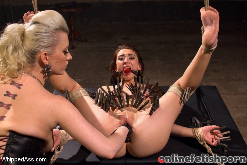 Whippedass.com – 20 year old submits to her.. Cherry Torn & Mandy Muse 2015 Lesbian Anal