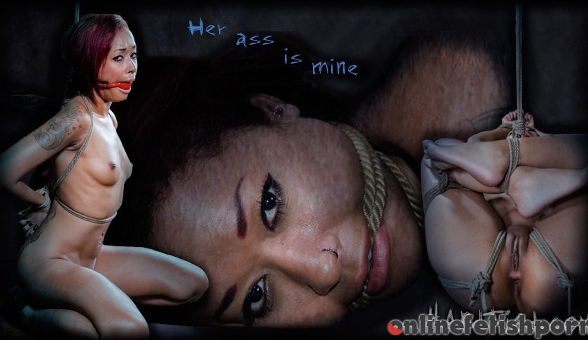 Hardtied.com – Her Ass Is Mine Skin Diamond 2013 Red Ball Gag