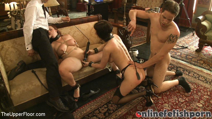 Theupperfloor.com – Service Session: Wolf in the House Cherry Torn & Bella Rossi & Wolf Hudson 2010 Humiliation