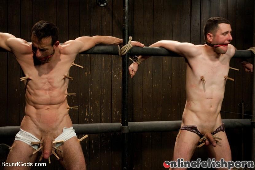 Boundgods.com – Post Orgasm Torment – Live Shoot Van Darkholme & Jason Miller & Jeof Pierson 2011 Bdsm