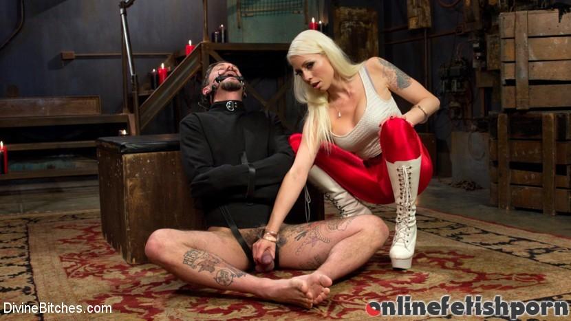 Divinebitches.com – Masculinity-Training with.. Lorelei Lee & Ryan Patrix 2016 Prostate Stimulation