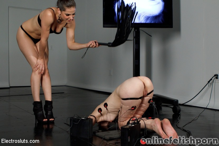 Electrosluts.com – Calico Becomes an Electroslut! Calico & Bobbi Starr 2012 Slave