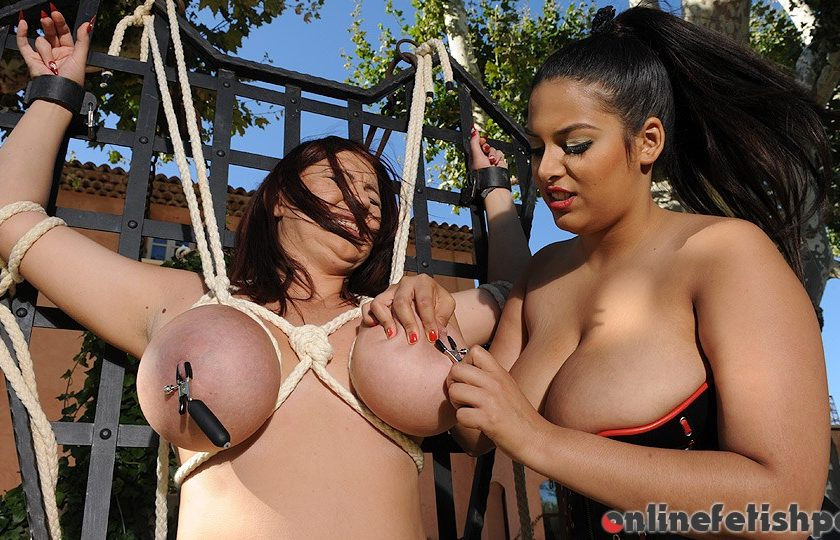 Houseoftaboo.com – The taming of the Tatas [Part 1] Kora 2011 Bondage