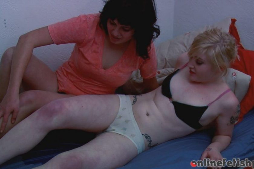 Hdwetting.com – Ginger and Mikki Pee in Bed  2012 Bedwetting