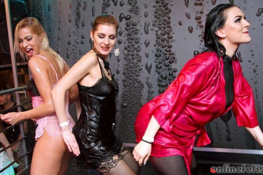 Swingingpornstars.com – DSO Pajama Pussy Party Part 3 -.. Kathy Anderson & Bianca & Angel Piaf aka Chaynee 2017 Dancing
