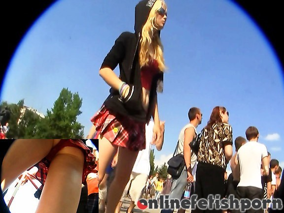 Upskirtcollection.com – Red panty up skirt of college girl  2011 Girlfriends Upskirts