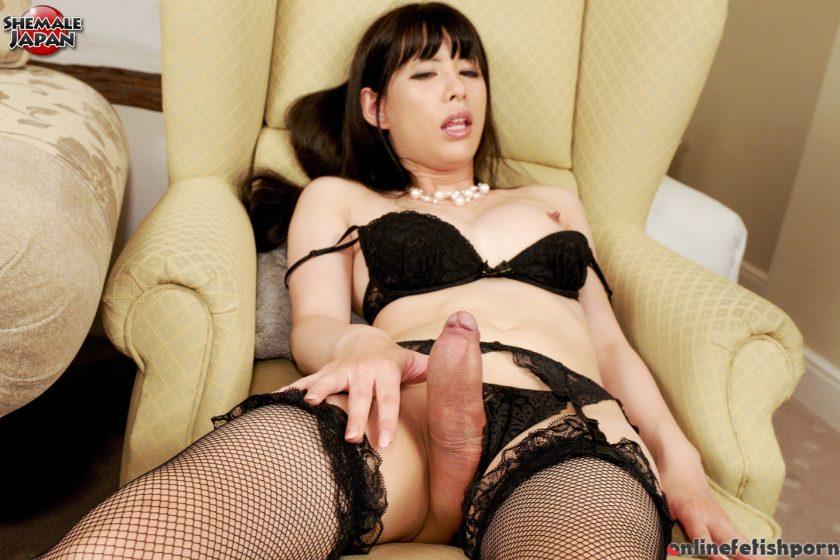 Tgirljapan.com – Yuki Onjyoji In Sexy Lingerie Yuki Onjyoji 2014 Transsexual