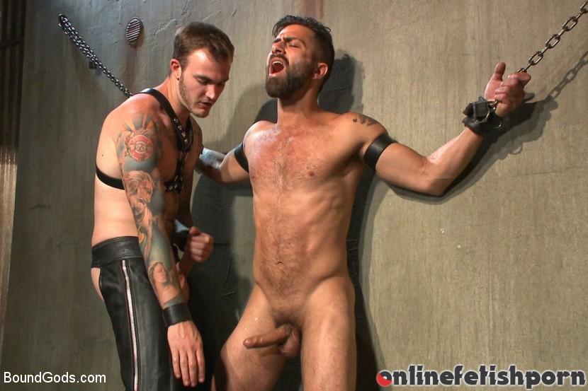Boundgods.com – At his request, Mr Wilde breaks.. Christian Wilde & Adam Ramzi 2014 Rope Bondage