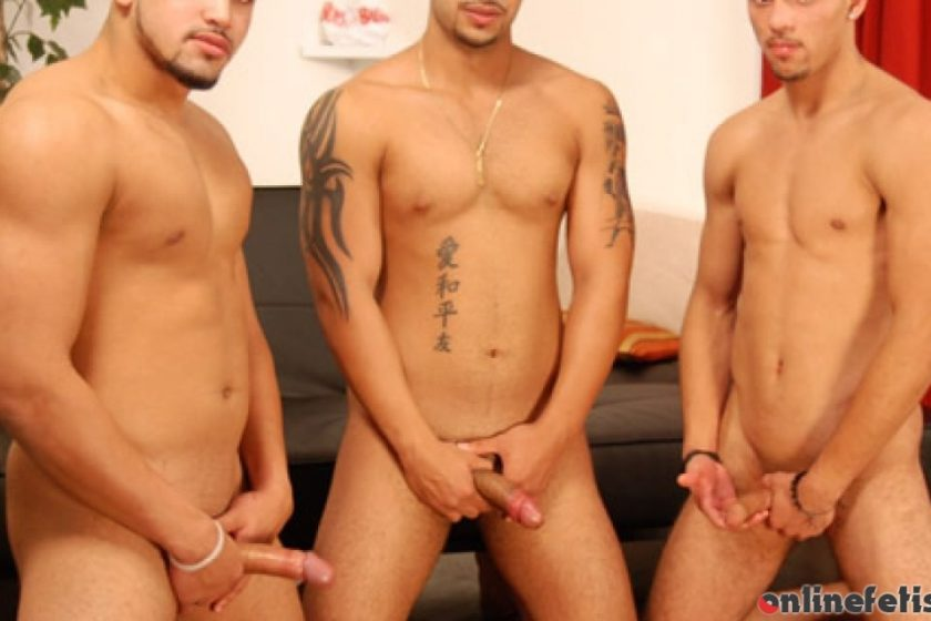 Circlejerkboys.com – Triple Crossed Rico Salazar & Jay Martinez & Loco Rios 2008 Gay Porn
