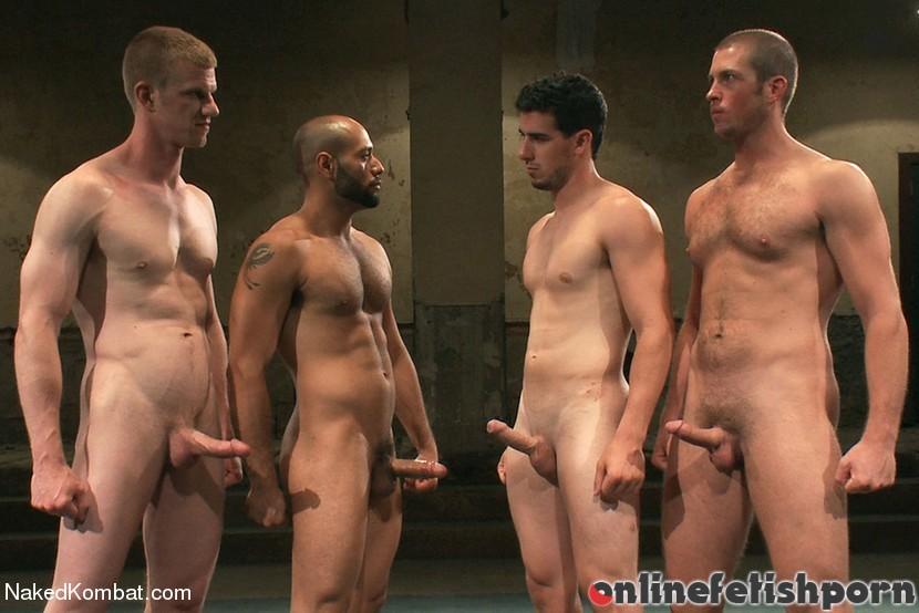 Nakedkombat.com – Mini Tournament NK Style – Tag Team Leo Forte & Blake Daniels & Tanner Wayne 2012 Gay