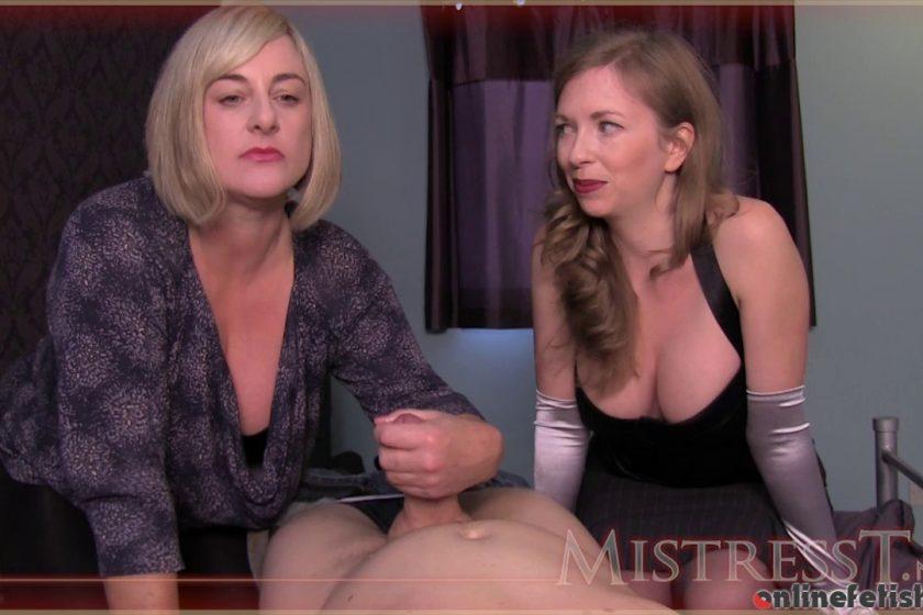 Mistresst.com – Auntie & MILF's Groin Relief  2013 Milf