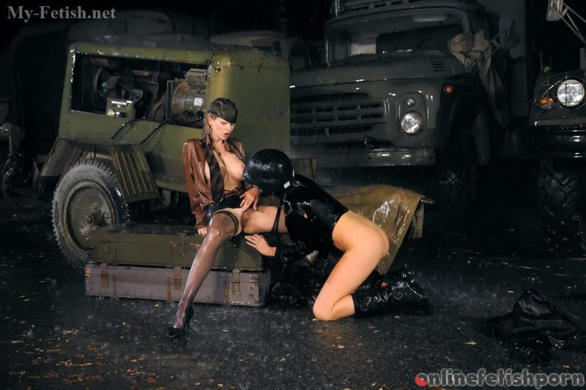My-fetish.com – Military Chicks Don't Let The.. Tarra White & Bianca 2009 Lesbian