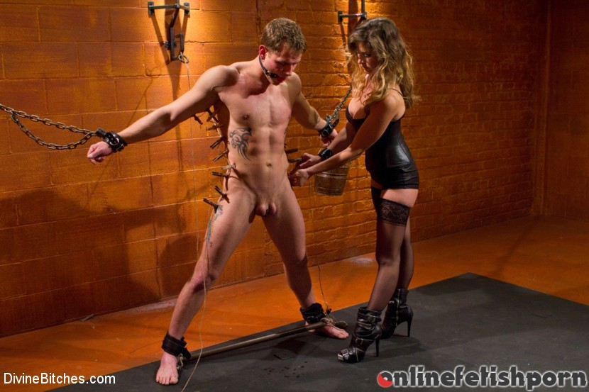 Divinebitches.com – Leather Clad Fem Dom: Episode 1 Felony & Trent Diesel 2011 Femdom