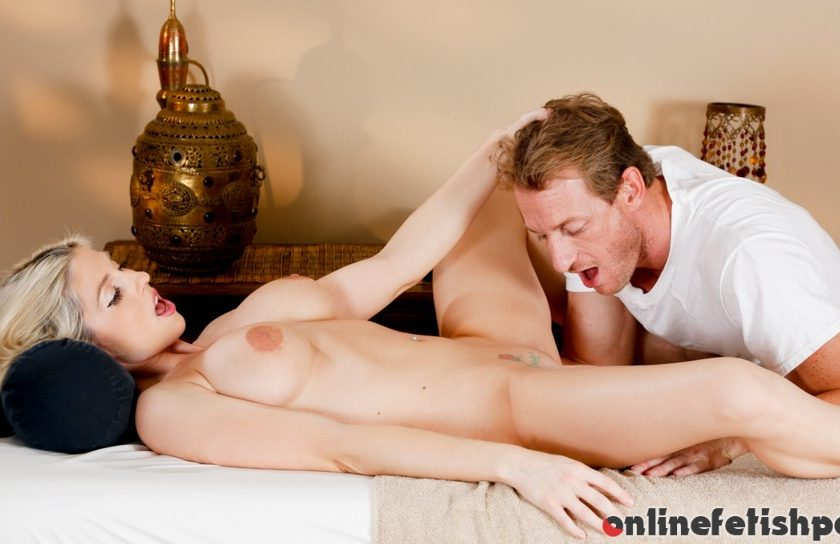 Trickyspa.com – I Take Care Of You, You Take Care.. Christie Stevens & Ryan McLane 2014 Pussy Licking