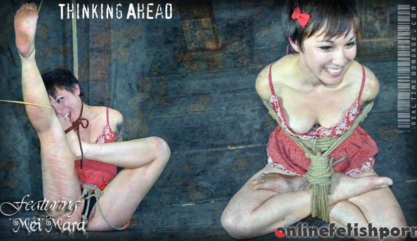 Realtimebondage.com – Thinking Ahead Part One Mei Mara 2012 Foot Caning