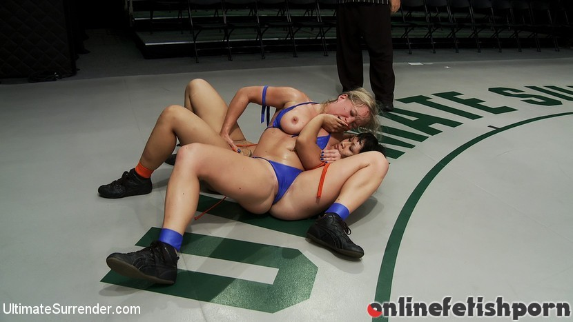Ultimatesurrender.com – Dragon Destroyed on the Mat!Made.. DragonLily & Dia Zerva 2010 Face Sitting