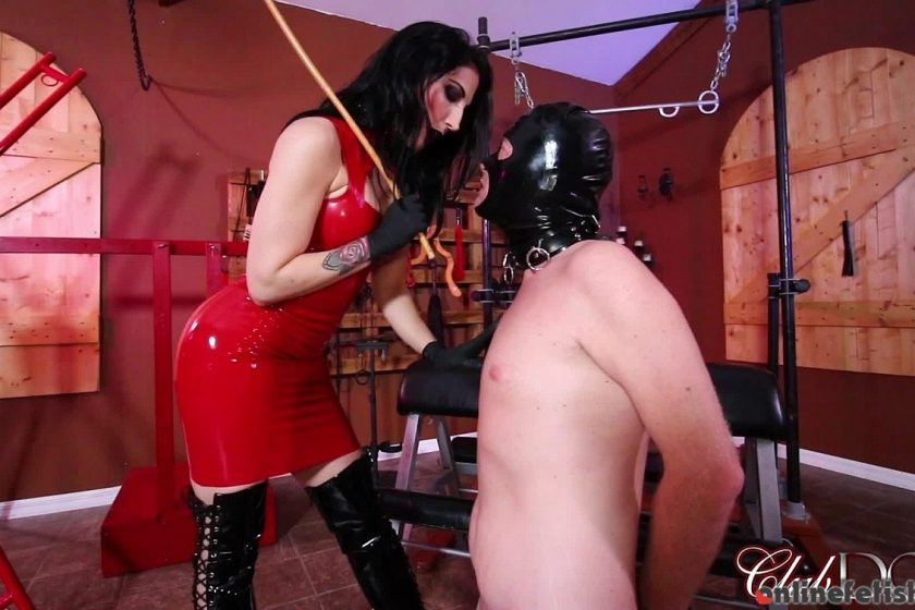 Clubdom.com – Caned by Mistress Raven Eve Raven Eve 2018 Caning