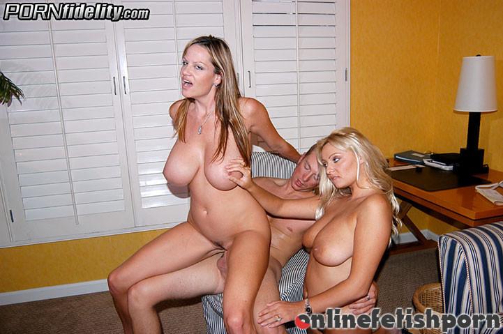 Pornfidelity.com – The Honeymoon Sheridan & Kelly Madison & Ryan Madison 2004 Threesome