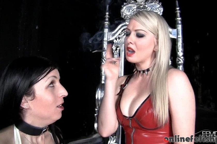 Femdomempire.com – Dehumanized into an ashtray Lexi Sindel 2012 Blonde