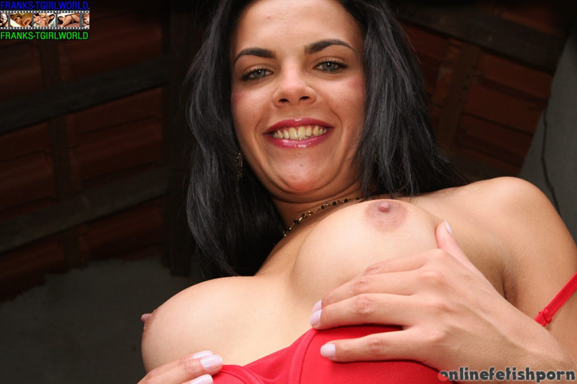 Franks-tgirlworld.com – Laisa Lins Toys Her Sexy Ass! Liza 2 2009 Transsexual